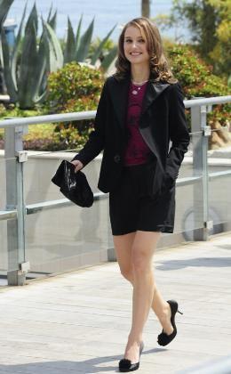 Natalie Portman de corto en Cannes