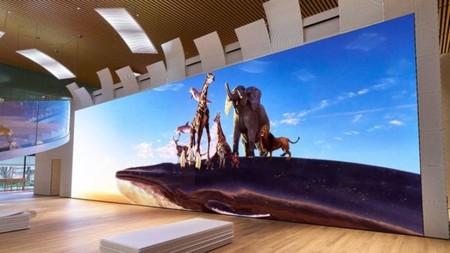 Sony prepara una gigantesca pantalla de casi 20 metros, resolución 16K y tecnología Crystal LED