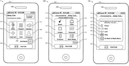 Nuevas patentes de Apple: clickwheel multitouch y envío de archivos durante las llamadas