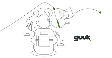 Guuk lanzará el 5G en el País Vasco la semana que viene para todas sus tarifas y sin coste adicional