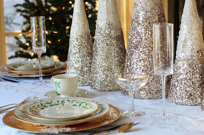 11 detalles decorativos para la mesa de Navidad que hemos visto en Instagram