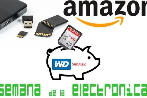Semana de la Electrónica en Amazon: el GB al mejor precio, con estas 13 ofertas en SanDisk y WD