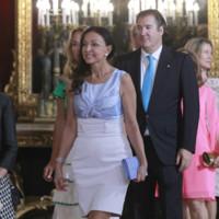 Esther Koplowitz recepcion Felipe VI Letizia