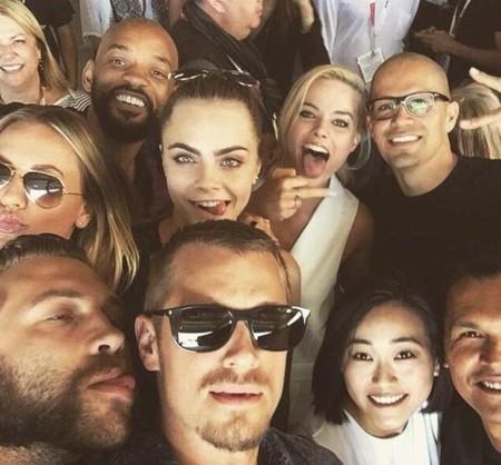 El selfie de Suicide Squad (Escuadrón Suicida)