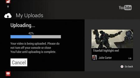 La subida de vídeos a Youtube desde Xbox One está a la vuelta de la esquina
