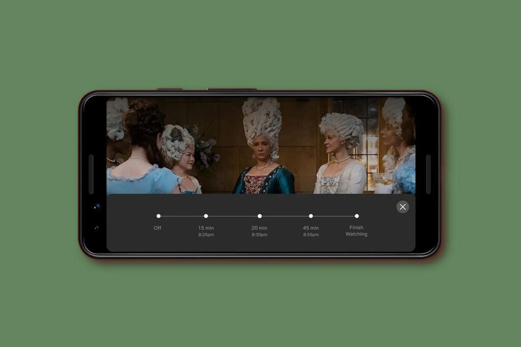 Netflix prueba un temporizador para detener la reproducción de la película o serie que estás viendo