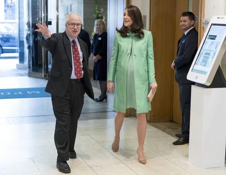 Kate Middleton Con Conjunto Verde Manzana B