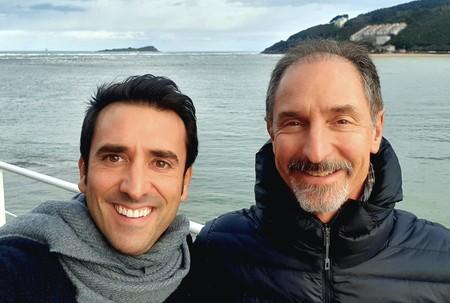 Xabi Uribe-Etxebarria y Tom Gruber