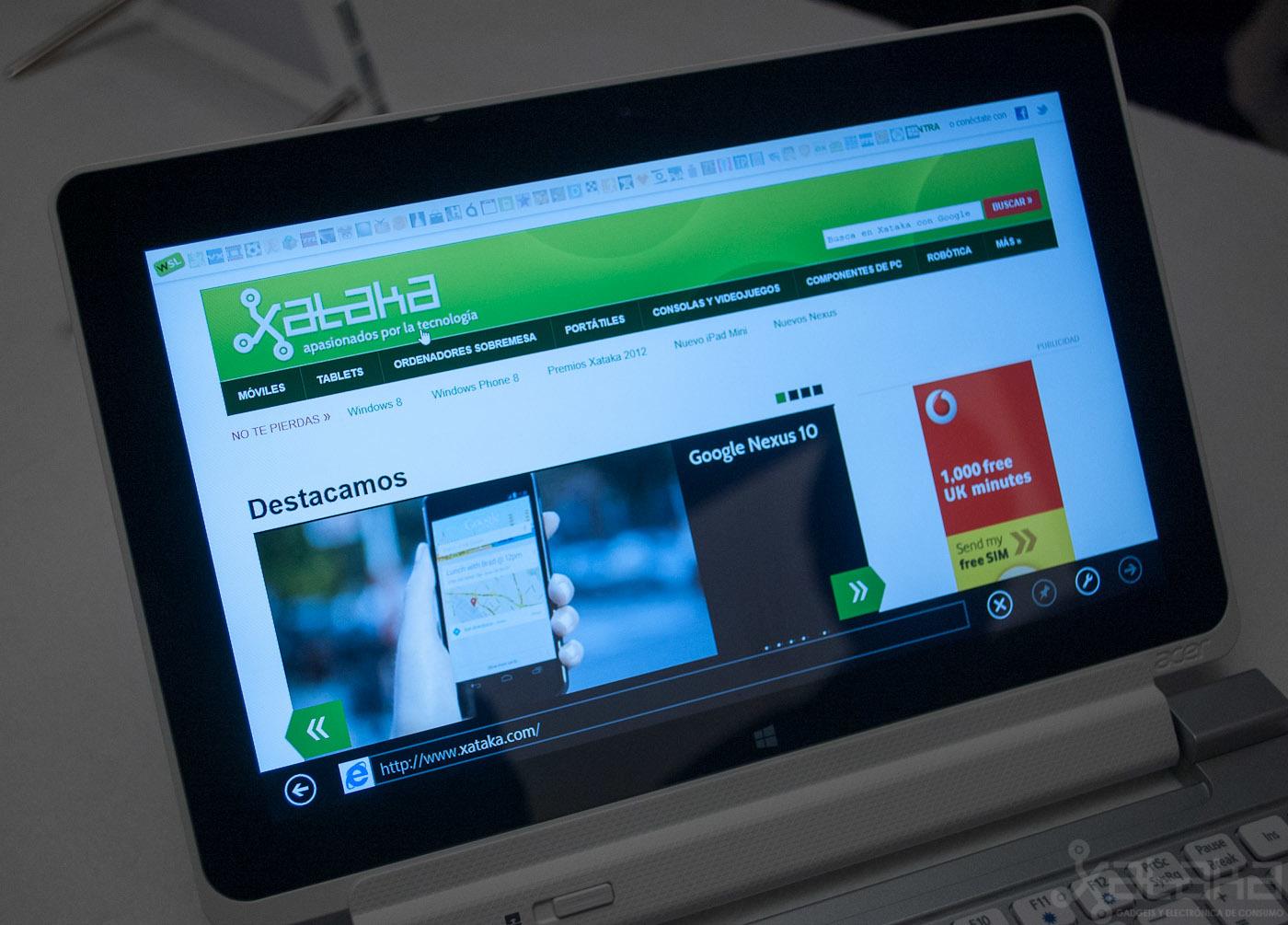 Foto de Acer Iconia W510, primeras impresiones (13/14)