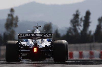 Buen debut de Dani Clos con Williams en Jerez
