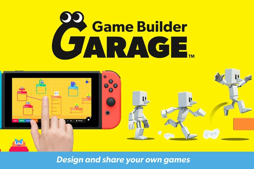 Nintendo + Programación: con Game Builder Garage los jugadores de Switch podrán crear sus propios videojuegos