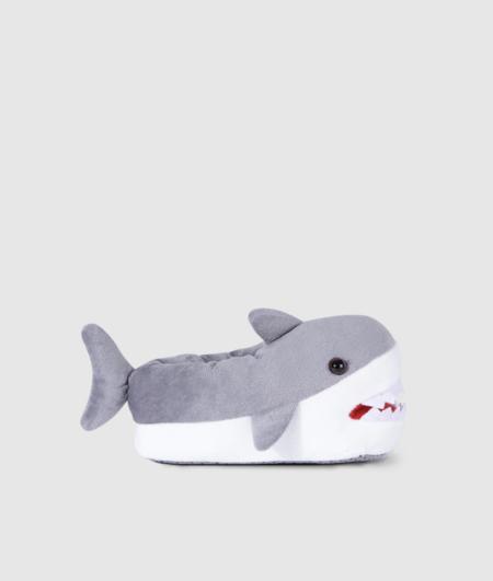 Zapatillas De Casa Infantiles Tiburon