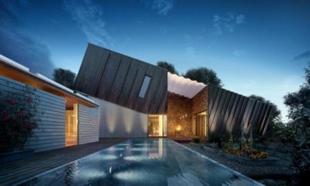 Diseñando una casa que genere más energía de la que consume y que necesitó para ser construida