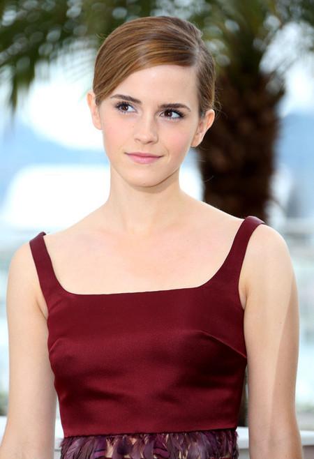 Cómo mostrar un look fresco y natural en el Festival de Cannes (por Emma Watson)
