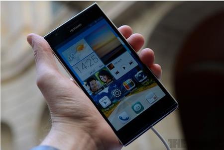 Un nuevo buque insignia para Huawei: Ascend P2