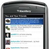 ÜberTwitter, un nuevo cliente de Twitter para BlackBerry