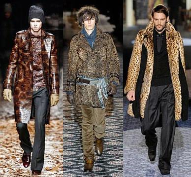 Gucci, Cavalli, Burberry Prorsum