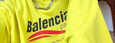 """Si quieres petarlo en """"Cuánto vale tu outfit"""" estas camisetas de Balenciaga te convertirán en la reina absoluta"""