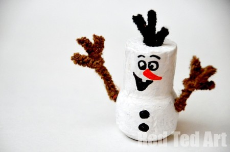 Manualidades Frozen Olaf Corcho