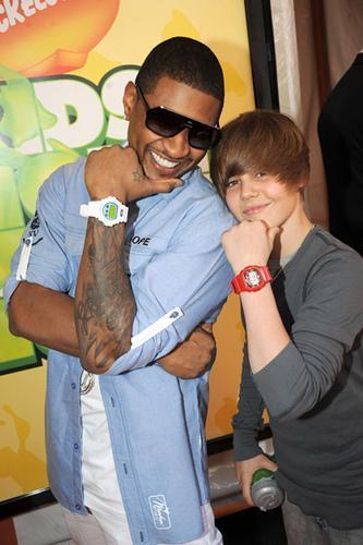 Justin Bieber Usher