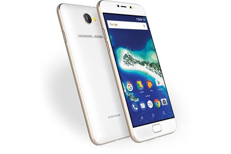 GM6 es un nuevo smartphone Android One con flash para selfies y sensor de huellas