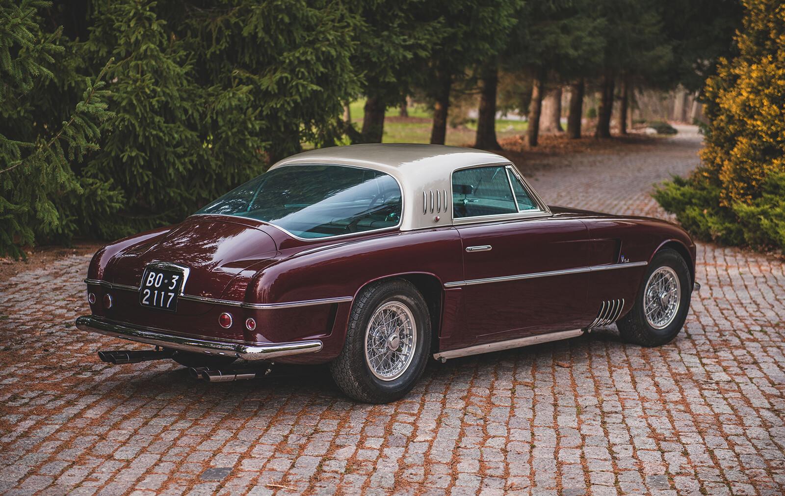 Ferrari 375 America Coupe Vignale (1954), a subasta