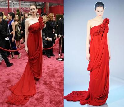 De la pasarela a la alfombra roja de los Oscars 2008