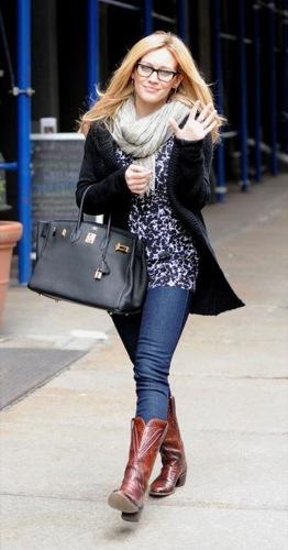 Hilary Duff cambia el estilo al bohemian chic II