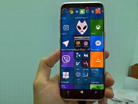 Realidad o ficción ¿Podríamos ver un Samsung Galaxy S8 cargado con Windows 10 Mobile?