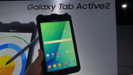 Galaxy Tab Active 2 llega a México, así es el tablet de Samsung con certificación militar enfocado a empresas