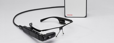 Estas son las gafas inteligentes Toshiba dynaEdge, el dispositivo con reconocimiento facial basado en Windows