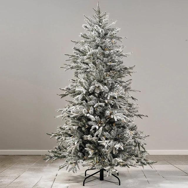 EL CORTE INGLÉS Árbol nevado Gressan con luz led Navidad de 180 cms