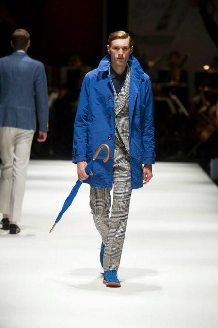 Hackett London SS 14  abrigo azul
