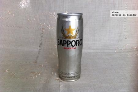 Sapporo. Cata de cerveza