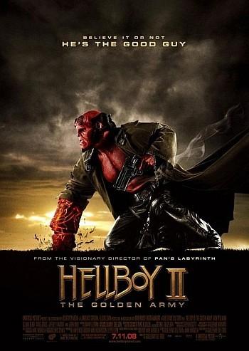 'Hellboy II: El Ejército Dorado', nuevos posters de lo nuevo de Guillermo del Toro