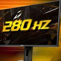 ASUS anuncia nuevos monitores gaming con paneles FastIPS, tiempo de acceso de 1ms y refresco de hasta 280 Hz