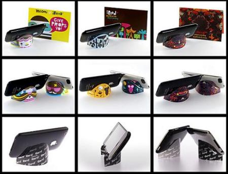 iBend, soporte para iPod y Phone de bolsillo