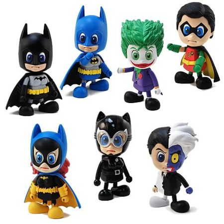 Set de figuritas de Batman