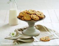 Cookies de macadamia y chocolate.  Receta