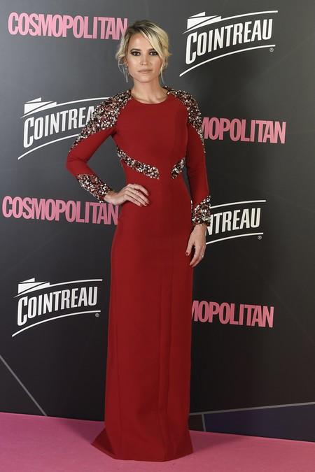 premios cosmopolitan 2017 alfombra roja look estilismo outfit Ana Fernandez