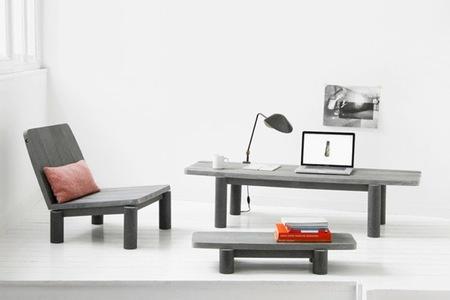 Muebles de exterior e interior fabricados con plástico reciclado