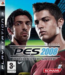 Konami actualiza el 'PES 2008' para PS3