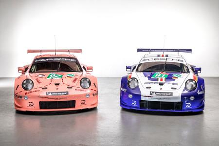 Porsche ya no tiene LMP1 en las 24 Horas de Le Mans, pero sí este par de 911 RSR con decoraciones míticas