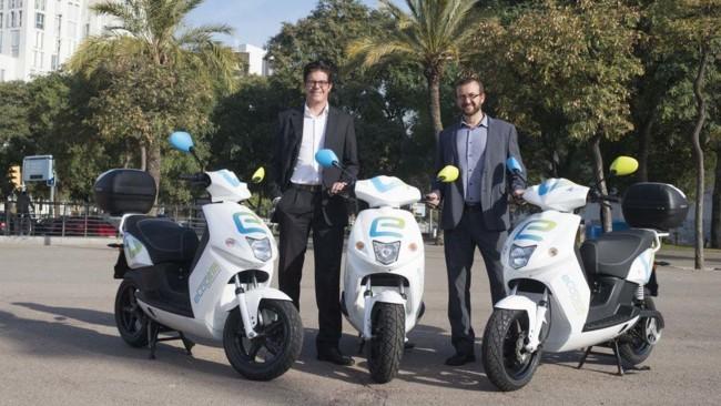 eCooltra Motosharing, 250 motos eléctricas para dar servicio de alquiler en Barcelona