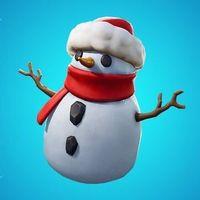 Nadie le hace caso al arbusto, pero ahora Fortnite presenta un muñeco de nieve que funciona igual