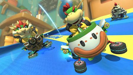 Al parecer ya no veremos el Fire Hopping en Mario Kart 8 Deluxe