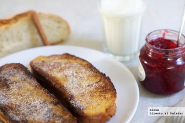 Tostadas francesas, una receta perfecta para desayunar en San Valentín