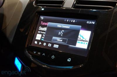 Siri Eyes Free sigue ampliando su radio de acción, Chevrolet en el 2014