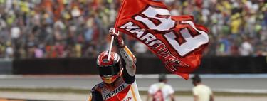 Marc Márquez elegido el mejor piloto de MotoGP en 2018 por los lectores de Motorpasión Moto