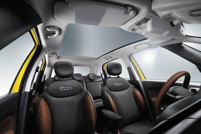 Fiat 500L Trekking interior